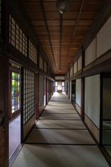 Fototapeta The traditional Japanese house