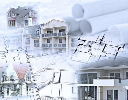 kolaz-projektow-architektonicznych-i-ukonczonych-budynkow