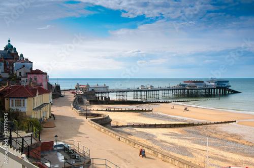 Cromer. seaside town in Norfolk, England Fototapeta