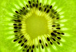 Fresh Kiwi background / SuperMacro / back lit
