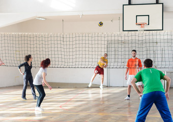 Fototapeta Volleyball match