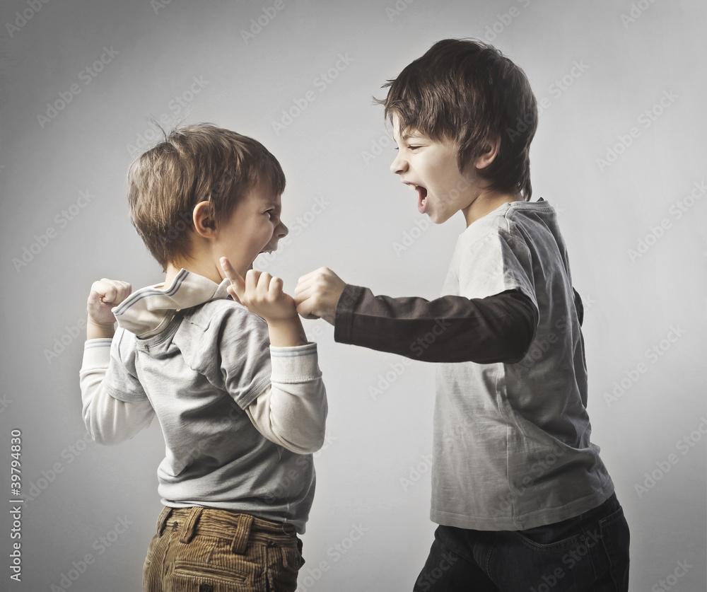 Fototapety, obrazy: Quarrel