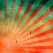 Abstract Grunge Rays Background.