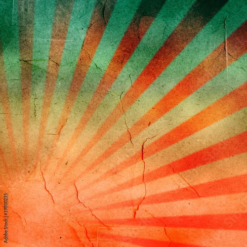 Photo  abstract grunge rays background.