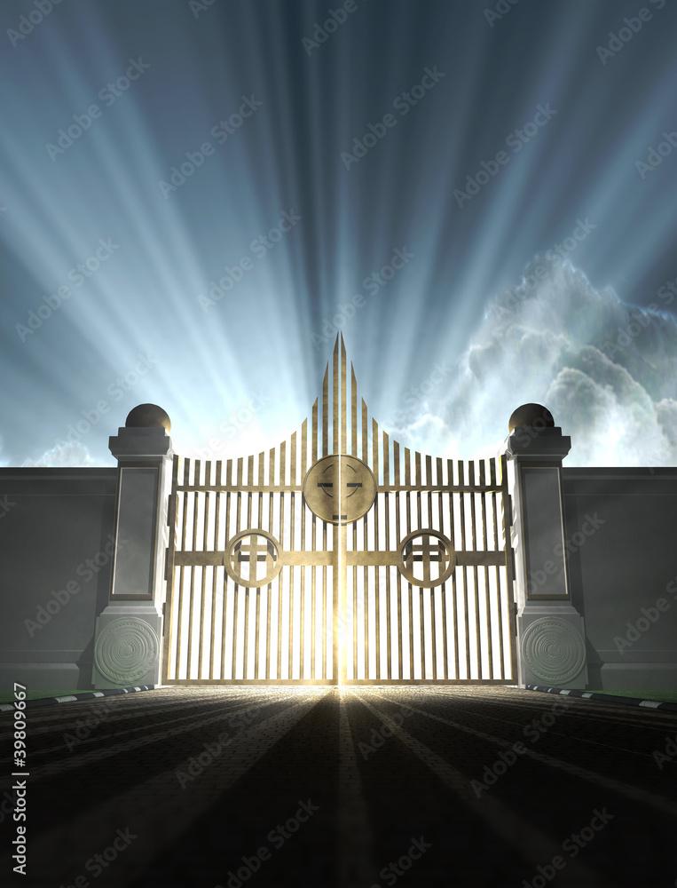 Obrazy na płótnie i fototapety na ścianę: Heavens Pearly Gates
