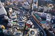 canvas print picture - Ikebukuro à Tokyo, vue d'en haut - Japon