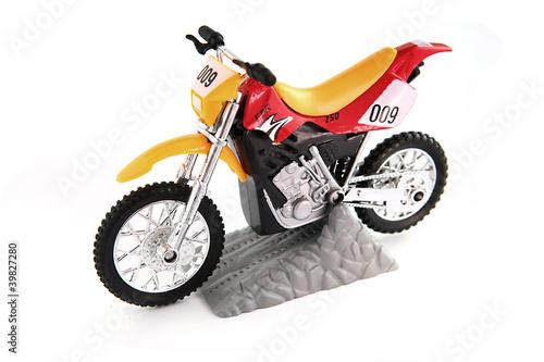 Poster Motocyclette Toy motocross bike