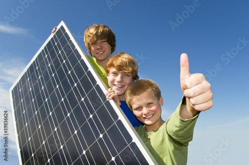 Fotomural Solarenergie