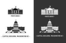 White House And Capitol Buildi...