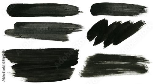 Valokuvatapetti Ink strokes