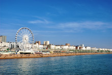 Panoramic View Brighton Beachf...