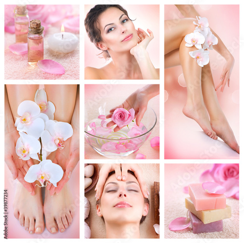 Spa Collage - 39877234