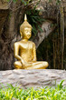 Meditation Buddha statue.