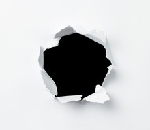 Hole In The Paper Sheet