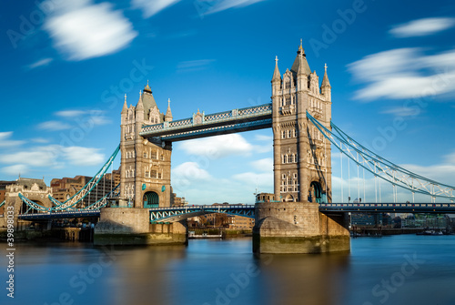 fototapeta na szkło Tower Bridge Londres Angleterre