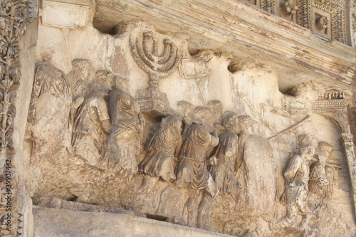Valokuva  Rom, Titusbogen, Triumphbogen