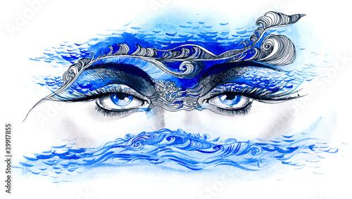 ocean in her eyes