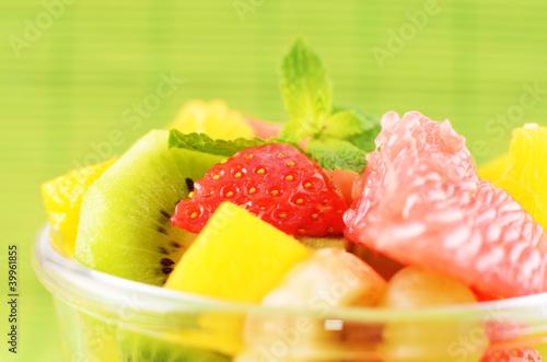 Poster Cuisine Fruit salad