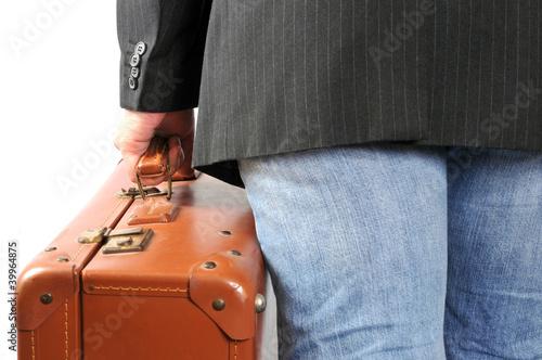 Le départ Billede på lærred