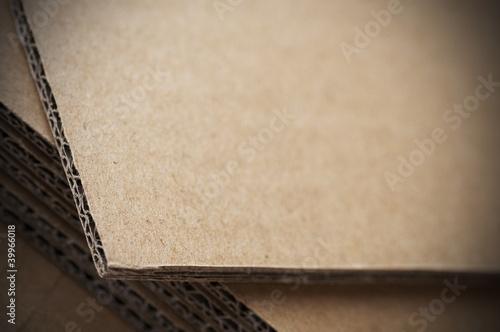 Fotografía cardboard - carton ondulé
