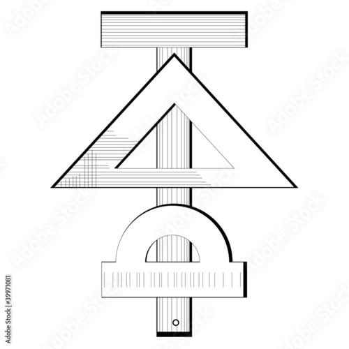 Measuring instruments engineering symbol - Buy this stock