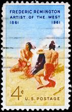 USA - CIRCA 1961 Frederic Remington