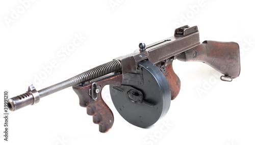 Fotografia  mashine gun