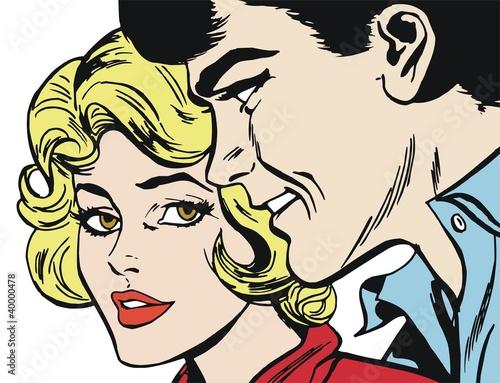romantyczna-komiksowa-para