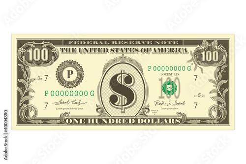 Photo  Dollar Note