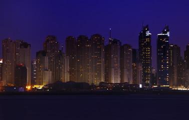 Fototapeta na wymiar Night Dubai