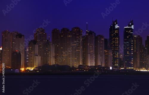 Obrazy na płótnie Canvas Night Dubai