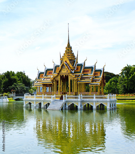Bang Pa-In Palace in Bangkok, Thailand
