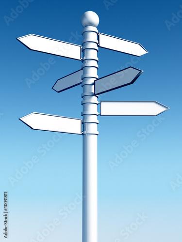 Fotografía  Guide sign