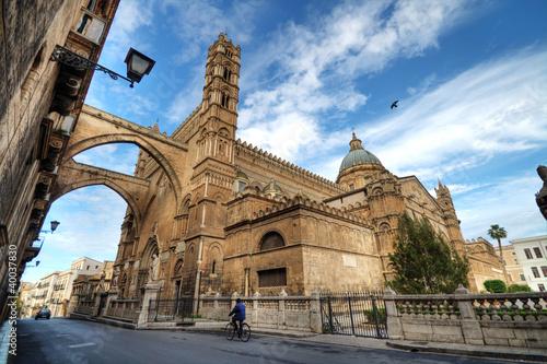 Foto op Aluminium Palermo Cattedrale di Palermo