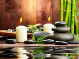 Fototapeta Bambus - spa concept