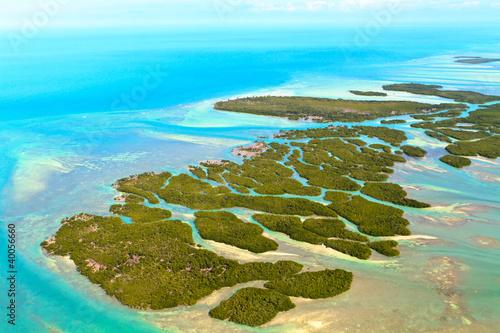 Valokuva  Florida Keys Aerial View