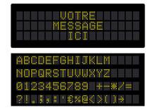 Panneau D'information Digital