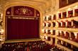 Leinwanddruck Bild - Interior of Opera house in Odassa, Ukraine