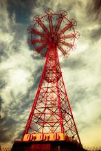 Historic Abandoned Coney Island Brooklyn Parachute Jump