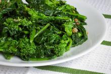 Italian Broccoli Rabe With Oli...