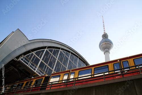 Papiers peints Berlin Bahnhof Alexanderplatz