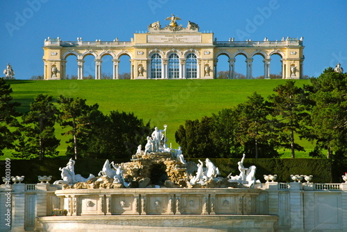 Photo  Gloriette, parco di Schönbrunn, Vienna
