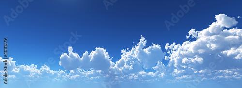 Deurstickers Hemel 空 雲 cloud sunny sky