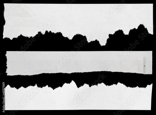 Fototapety, obrazy: Newspaper clippings