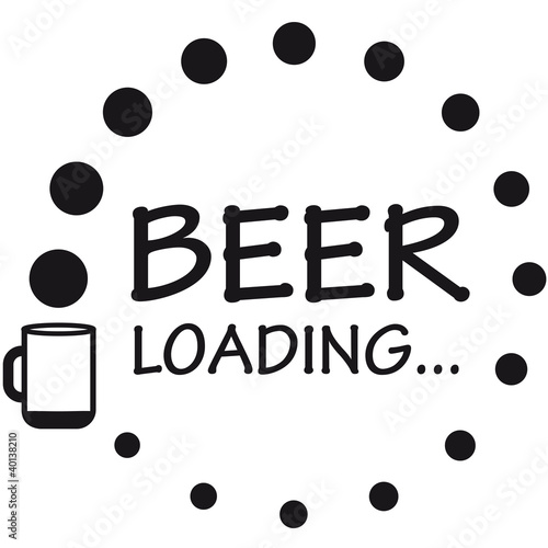 beer_loading Poster