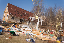 Tornado Damage In Lapeer, Mich...