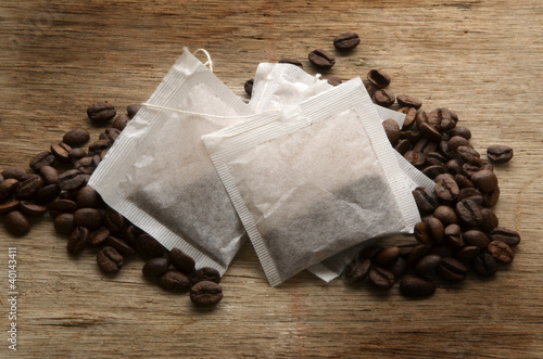 Printed kitchen splashbacks Coffee beans Coffee bags Bustine di caffè Café en saquitos