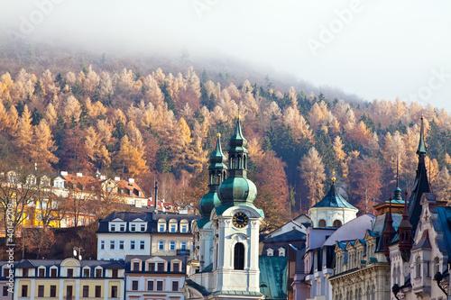 Fotografie, Obraz  View of Karlovy Vary