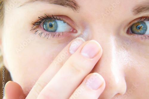 Fotografía  tears in her eyes