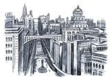 malowanie miejskiego miasta - 40159610